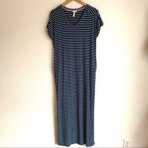 Matilda Jane blue striped Set Sail maxi dress